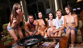Complete the particular topless strumpets are playing poker and they will seize smashed intense